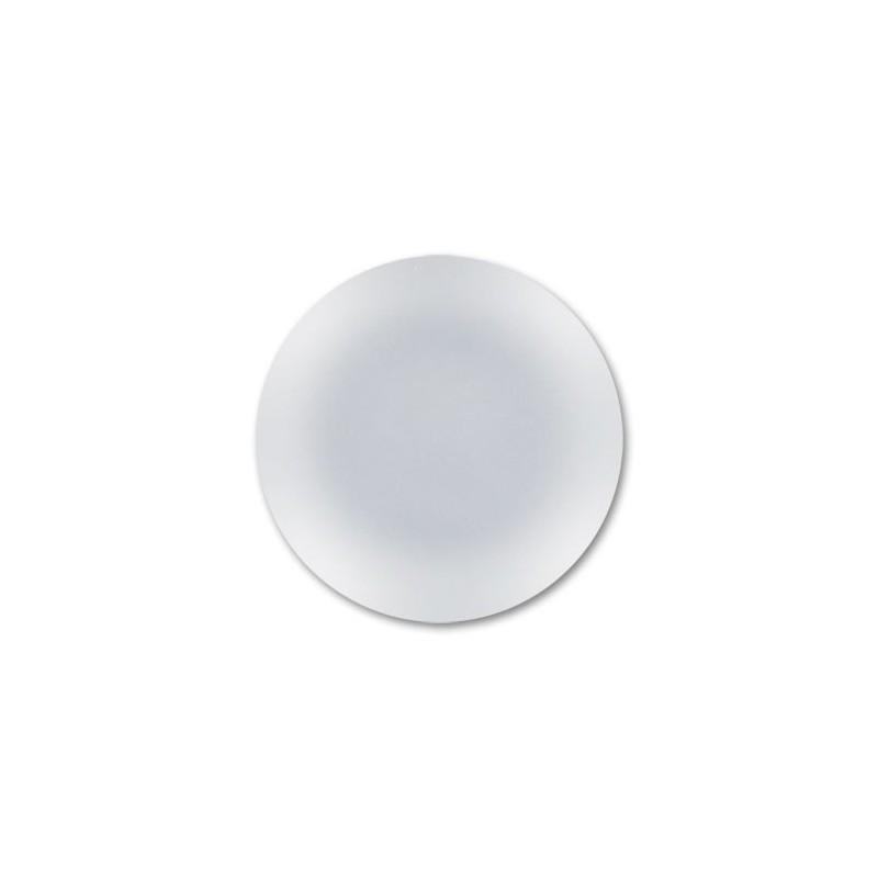 24mm Vert Fluo Lunasoft Lucite Round Cabochon
