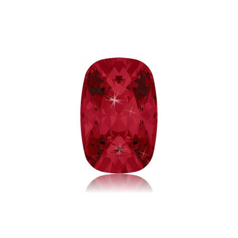14x10mm Light Siam F (227) Cushion Ehete Kristall 4568 Swarovski Elements