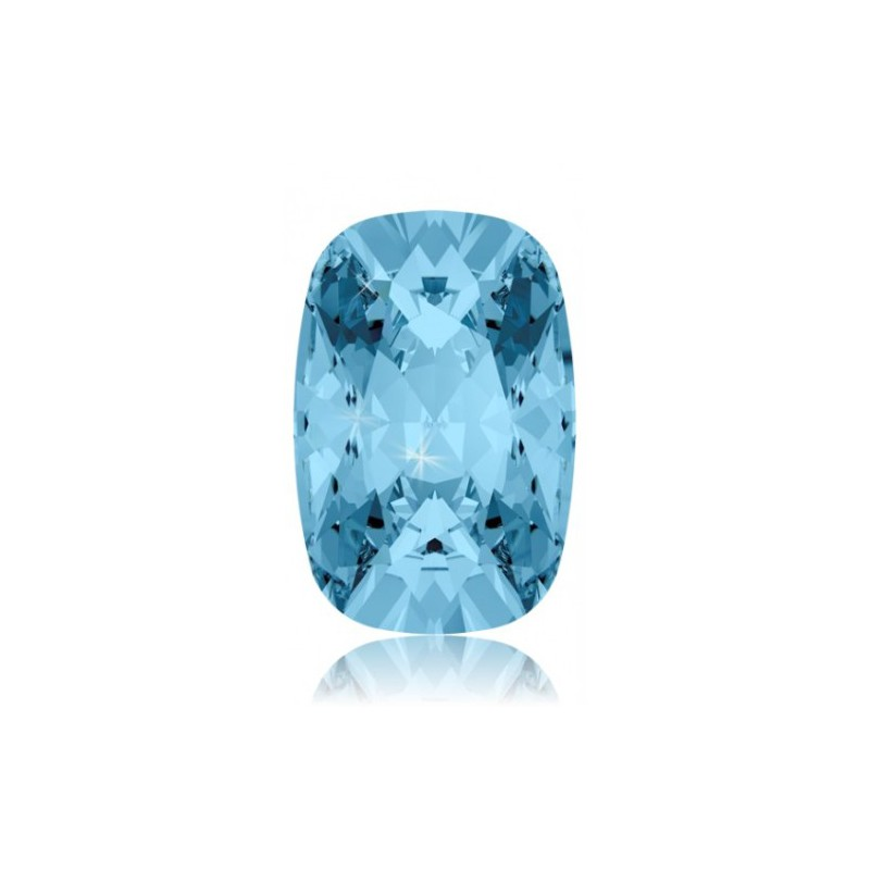 18x13mm Aquamarine F (202) Cushion Ehete Kristall 4568 Swarovski Elements