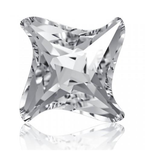 17mm Crystal F (001) Twister Fancy Stone 4485 Swarovski Elements