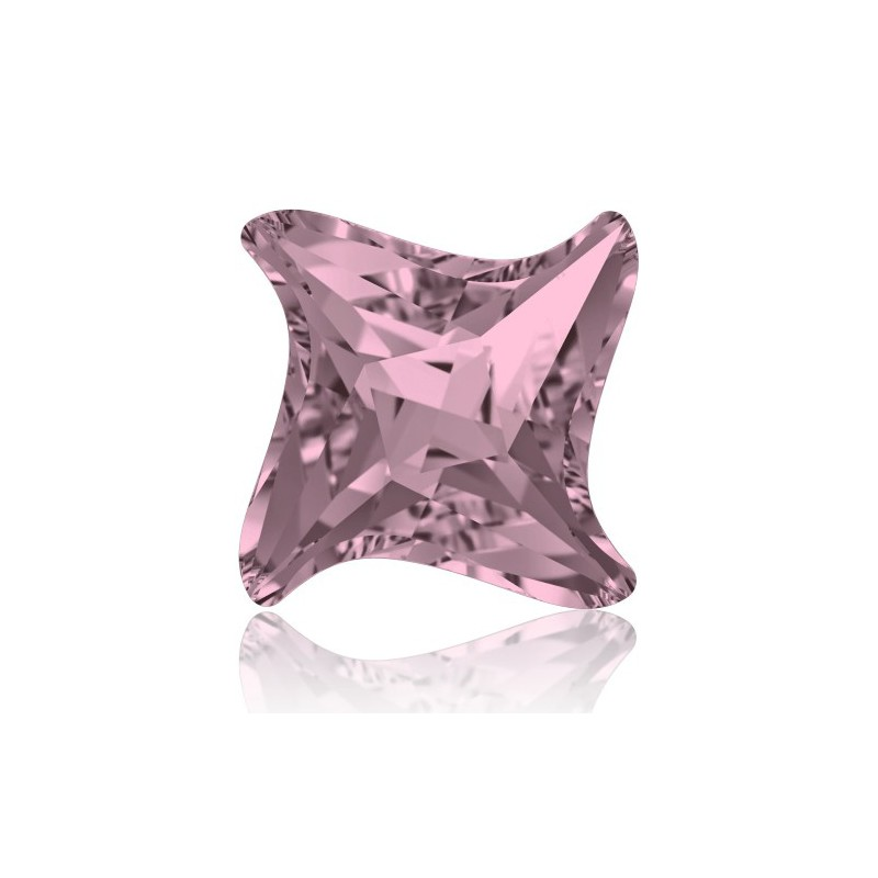 10.5mm Crystal Antique Pink F (001 ANTP) Twister Fancy Stone 4485 Swarovski Elements