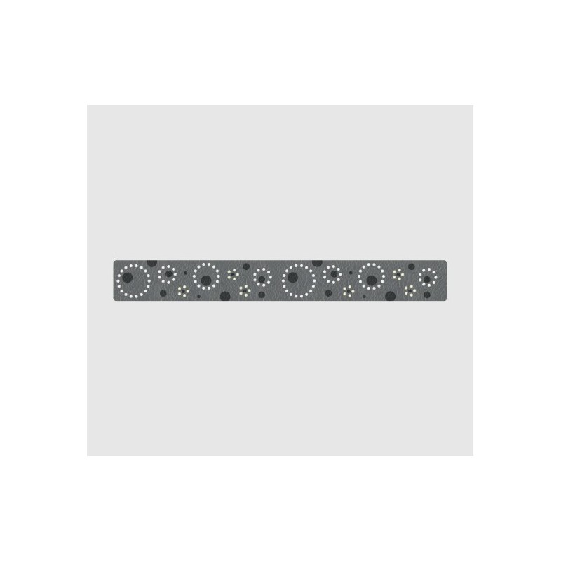 Рыба 88405 Blue Grey Crystal Leatherette-it 51x80mm