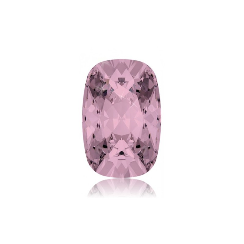 18x13mm Light Siam F (227) Cushion Ehete Kristall 4568 Swarovski Elements