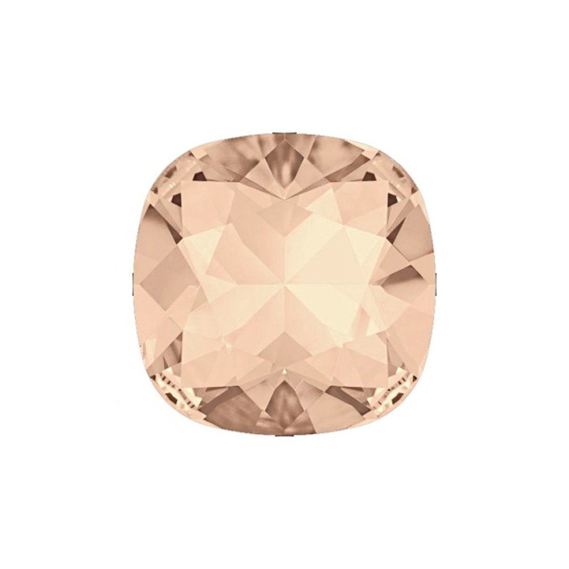 10MM Light Peach DF (90300) square fancy stone Czech Preciosa