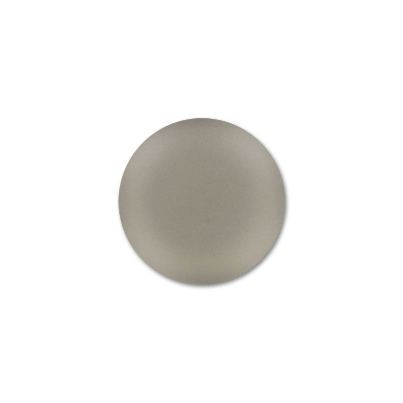 24mm Black Diamond Lunasoft Lucite Round Cabochon