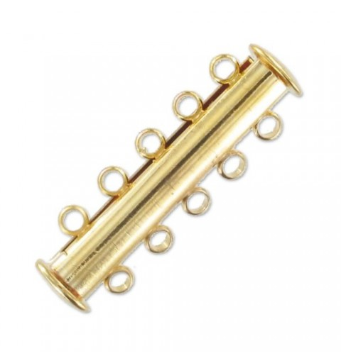 magnetic slider Kuld toon 5 rida umbes 11x30mm