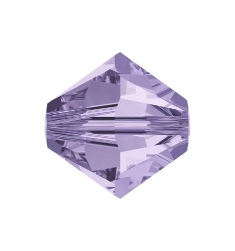 4MM Violet (371) 5328 XILION Bi-Cone Helmes SWAROVSKI ELEMENTS