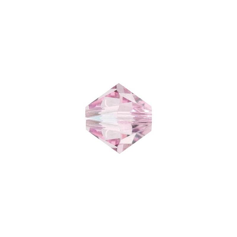 6MM Rosaline (508) 5328 XILION Bi-Cone Beads SWAROVSKI ELEMENTS