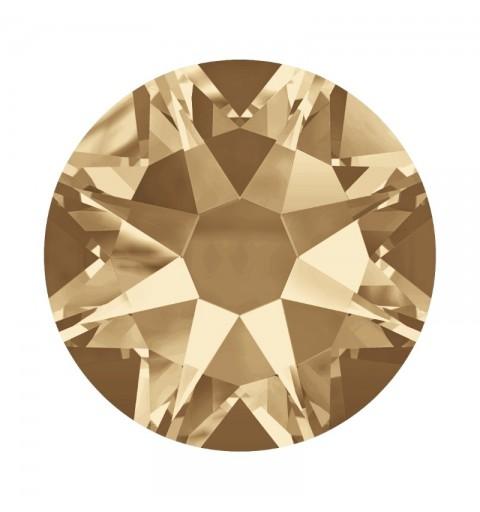 2058/2028 SS5 Crystal Golden Shadow F (001 GSHA) SWAROVSKI ELEMENTS