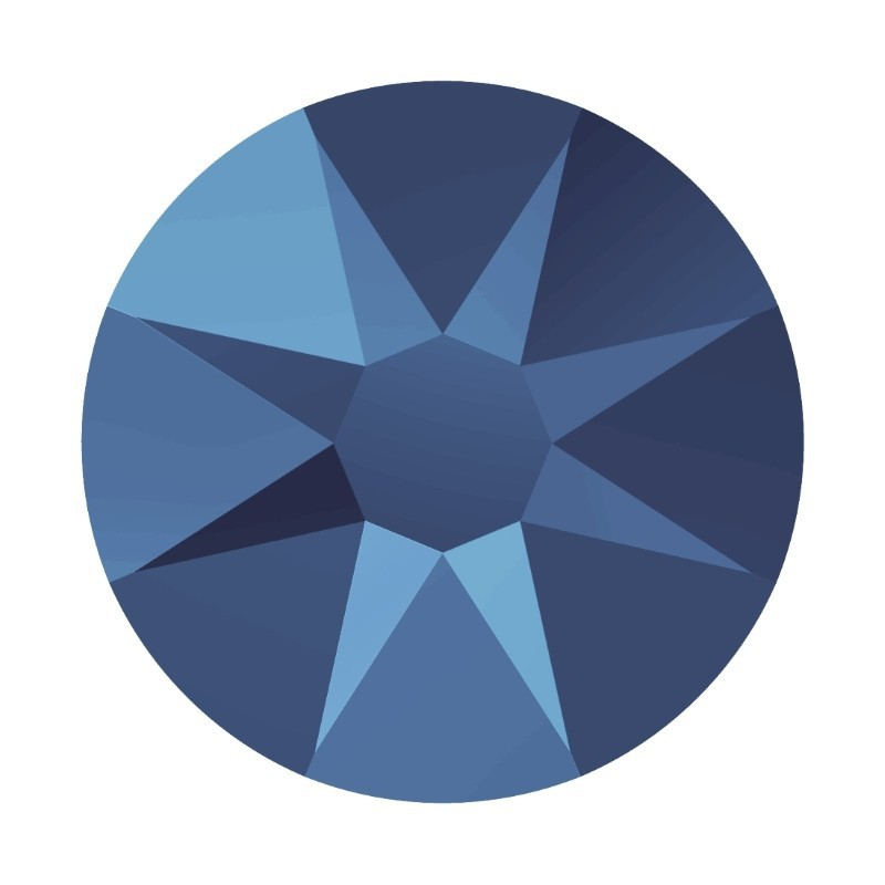 2058/2028 SS5 Crystal Metallic Blue F (001 METBL) SWAROVSKI ELEMENTS