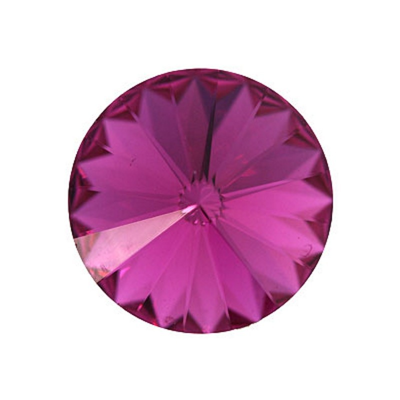12MM Fuchsia F (502) 1122 Rivoli SWAROVSKI ELEMENTS