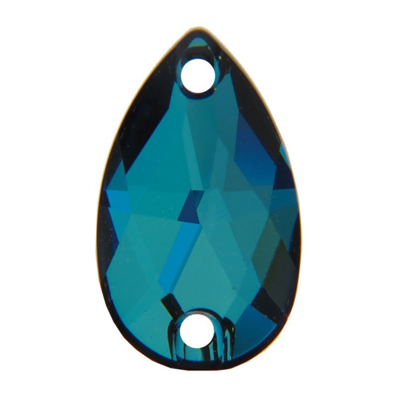 18x10,5MM CRYSTAL BERMUDA BLUE F (001 BBL) 3230 Drop SWAROVSKI ELEMENTS