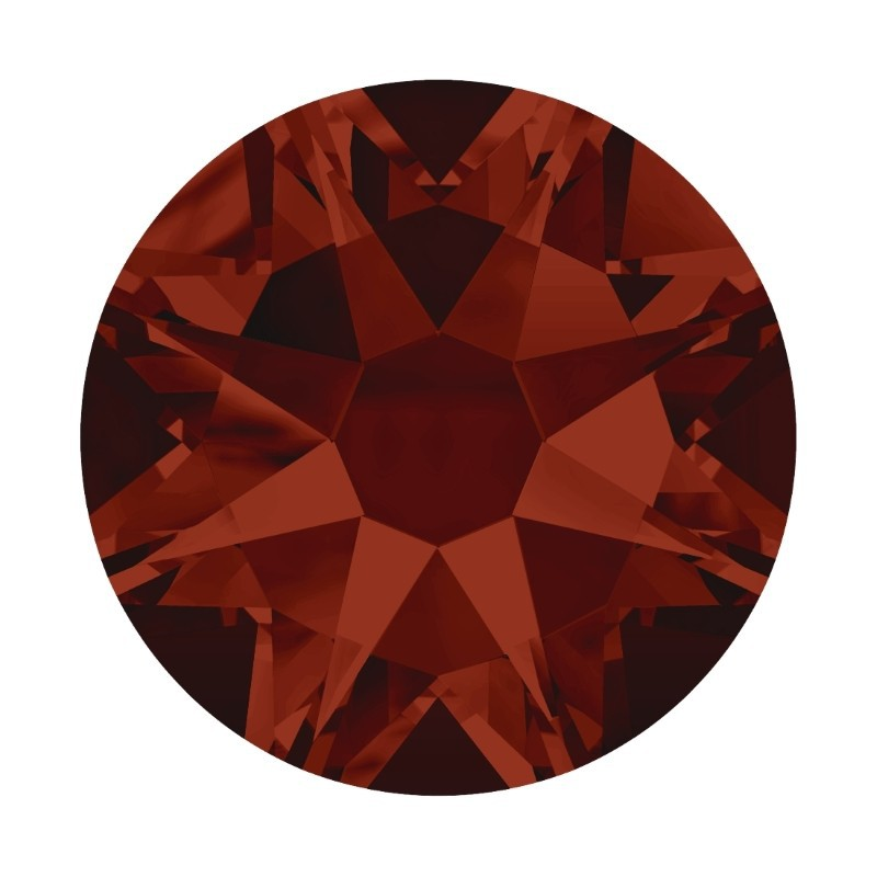2058 SS5 Crystal Red Magma F (001 REDM) Xilion Rose SWAROVSKI ELEMENTS