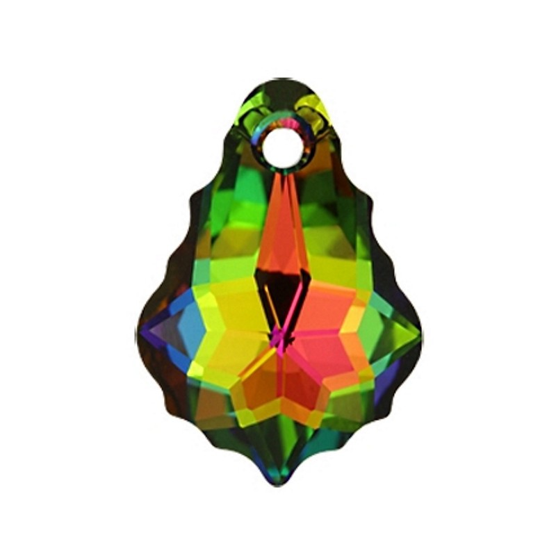 16x11MM Kristall Vitrail Light F (001 VL) Baroque Ripatsid 6090 SWAROVSKI ELEMENTS