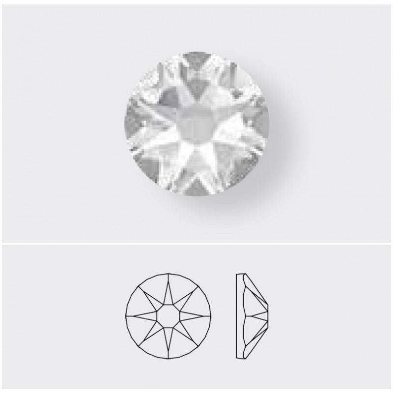 2058/2028 SS5 Crystal Silver Shade F (001 SSHA) SWAROVSKI ELEMENTS