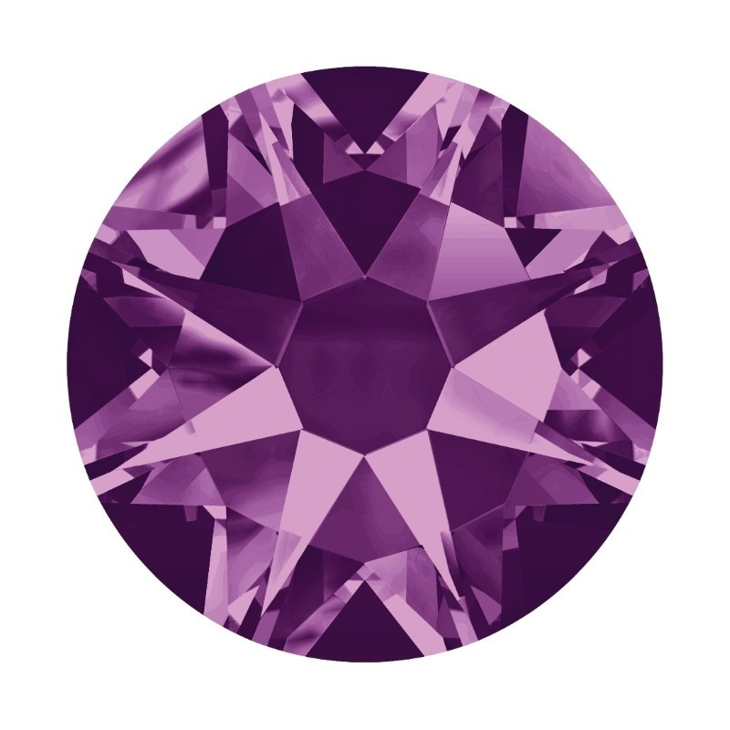 2058/2028 SS5 Amethyst F (204) SWAROVSKI ELEMENTS