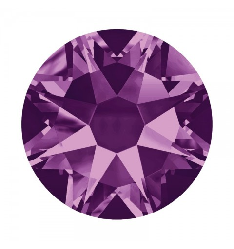 2058 SS20 Amethyst F (204) SWAROVSKI ELEMENTS