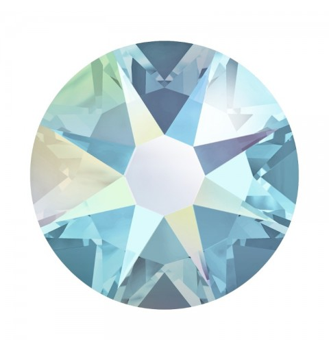 2058/2028 SS5 Aquamarine AB F (202 AB) SWAROVSKI ELEMENTS
