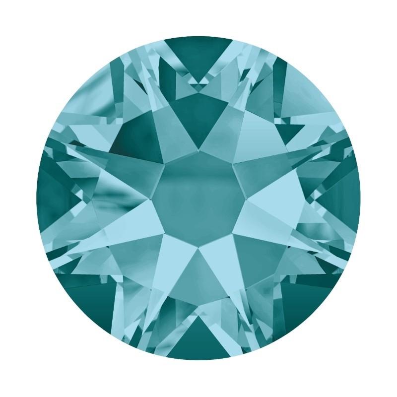 2058/2028 SS5 Blue Zircon F (229) SWAROVSKI ELEMENTS