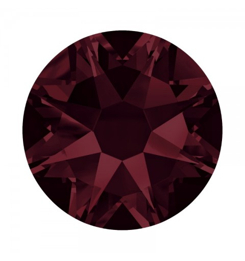 2058 SS12 Burgundy F (515) SWAROVSKI ELEMENTS