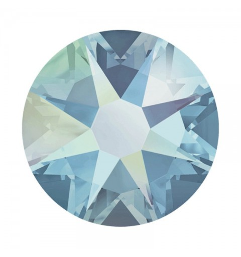2058 SS20 Caribbean Blue Opal AB F (394 AB) SWAROVSKI ELEMENTS