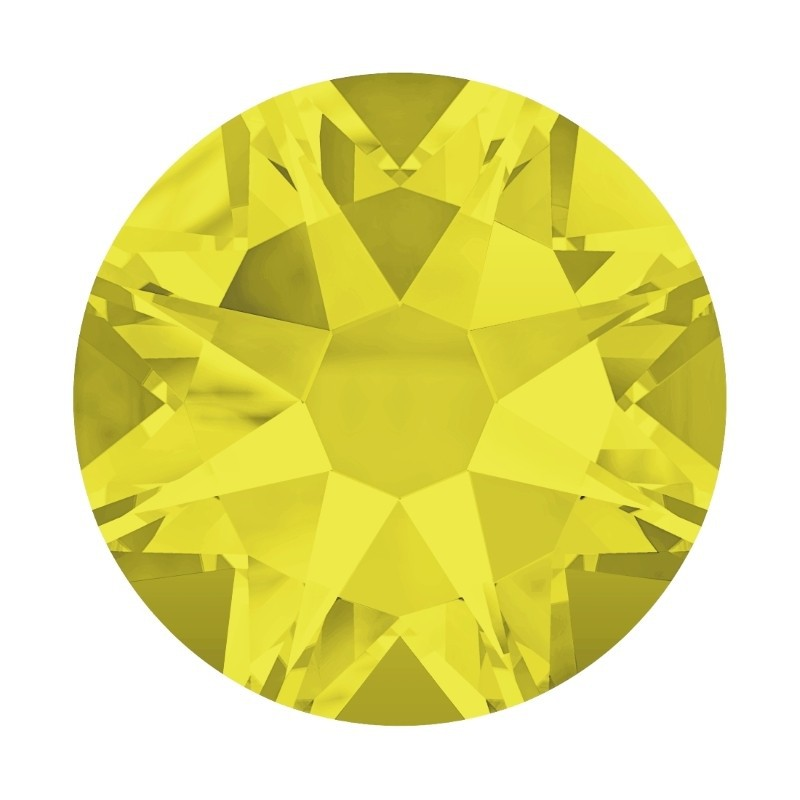 2058/2028 SS5 Citrine F (249) SWAROVSKI ELEMENTS