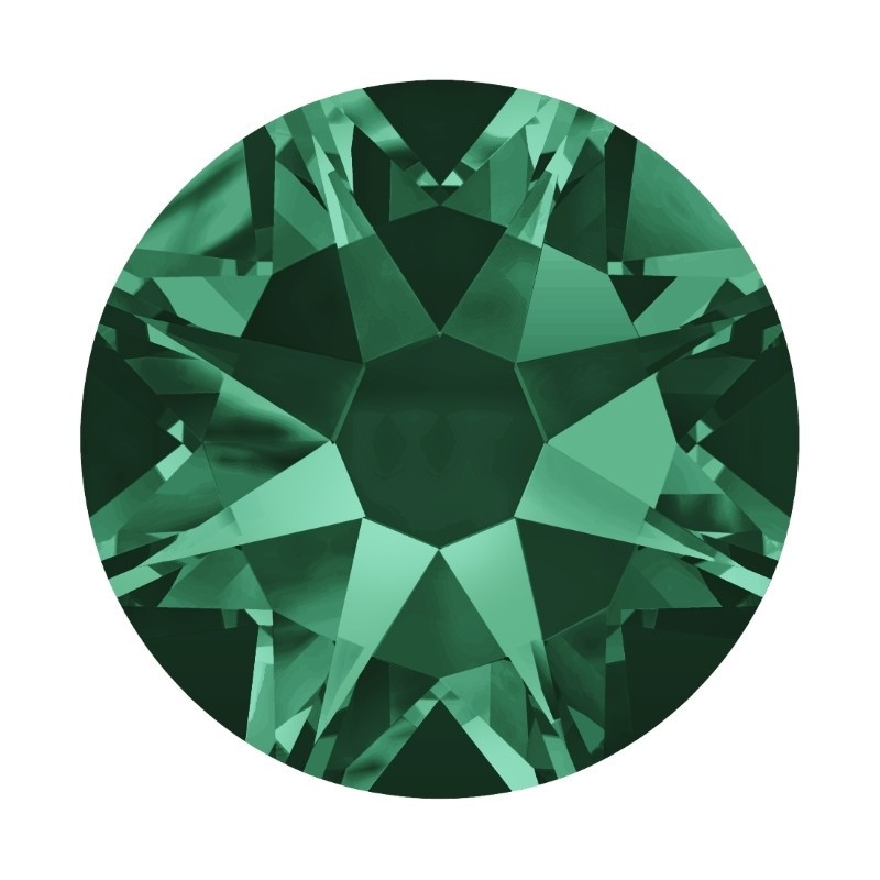 2058/2028 SS5 Emerald F (205) SWAROVSKI ELEMENTS