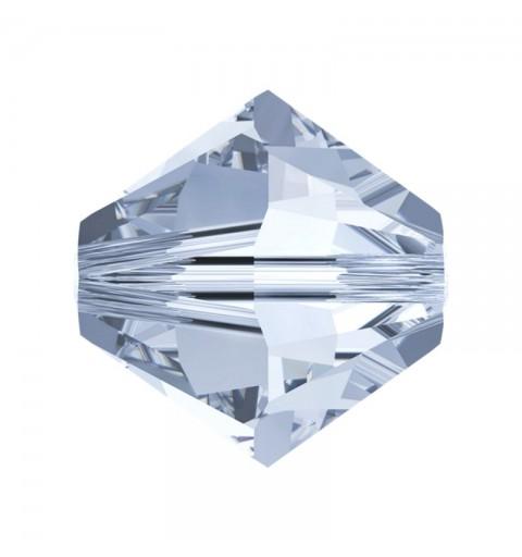 6MM Crystal Blue Shade (001 BLSH) 5328 XILION Bi-Cone Beads SWAROVSKI ELEMENTS