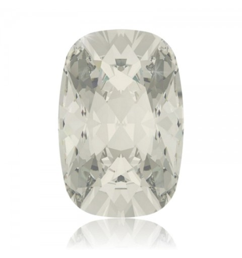 18x13mm Crystal Silver Shade F (001 SSHA) Cushion Ehete Kristall 4568 Swarovski Elements