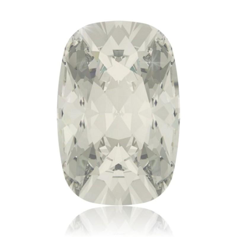 27x18mm Crystal Silver Shade F (001 SSHA) Cushion Ehete Kristall 4568 Swarovski Elements