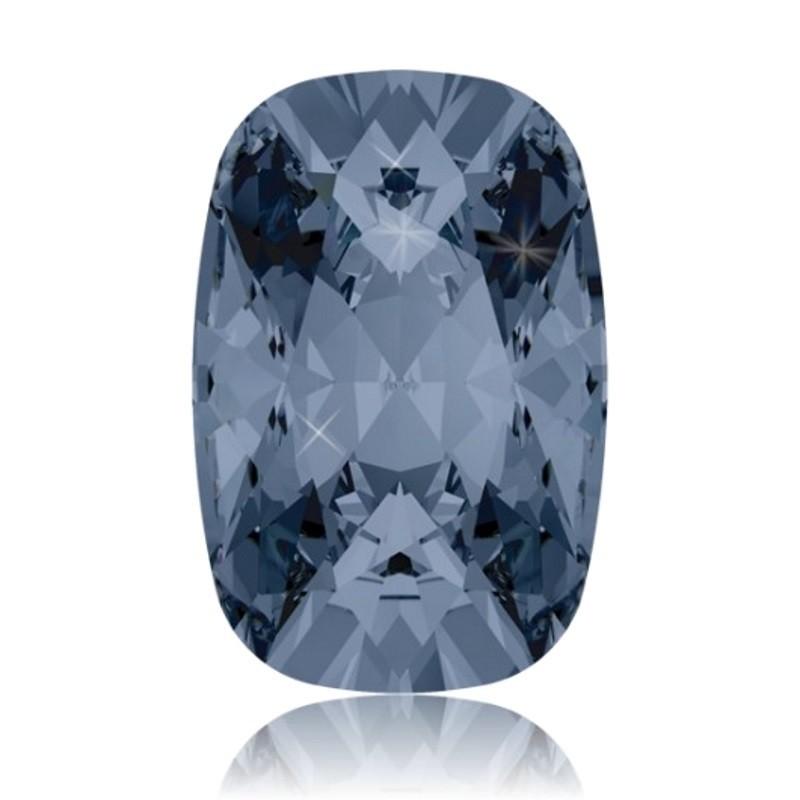 27x18mm Crystal Silver Night (001 SINI) Cushion Ehete Kristall 4568 Swarovski Elements