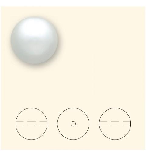 14MM Valge Crystal Ümmargune Pärl (001 650) Suure Avaga 5811 SWAROVSKI ELEMENTS