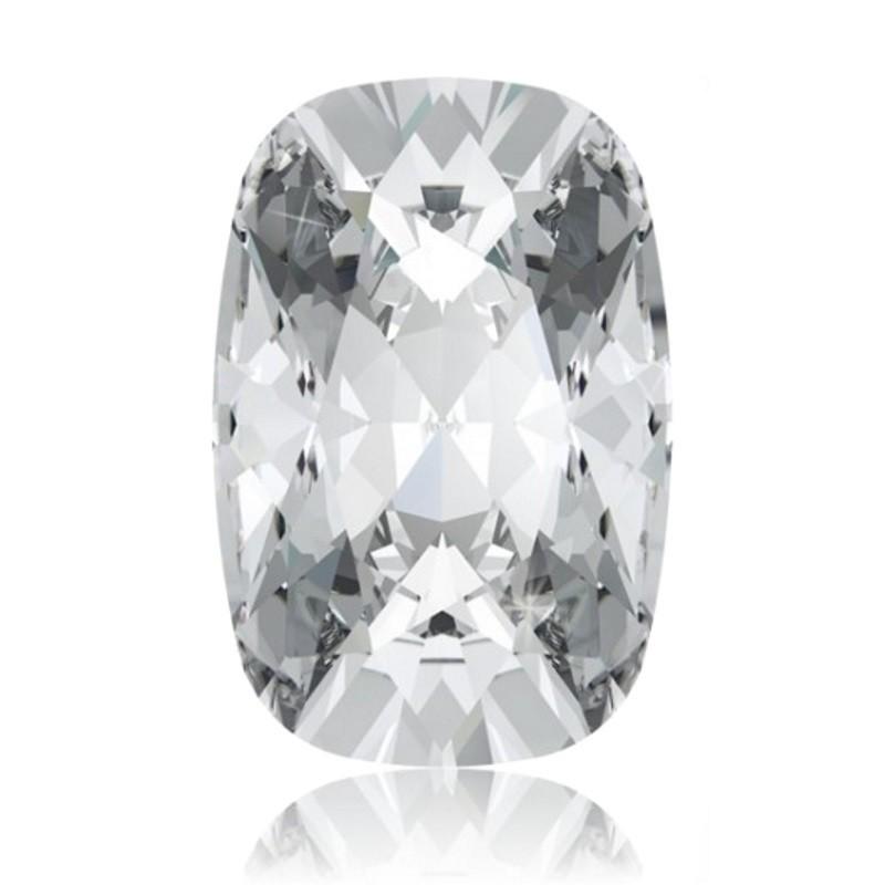 27x18mm Crystal F (001) Cushion Fancy Stone 4568 Swarovski Elements