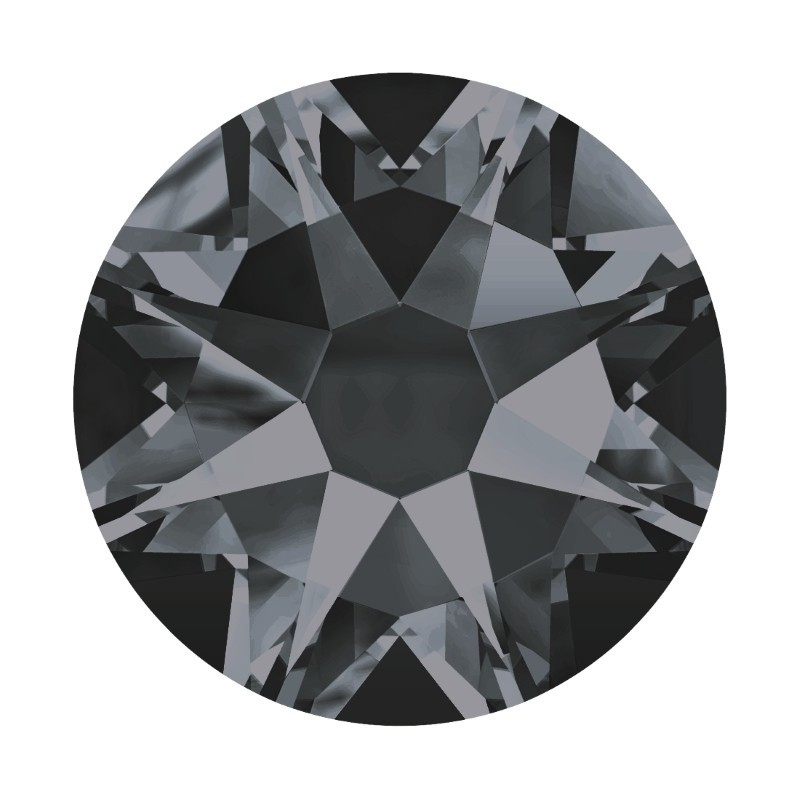 2088 SS20 Crystal Silver Night F (001 SINI) XIRIUS Rose SWAROVSKI ELEMENTS