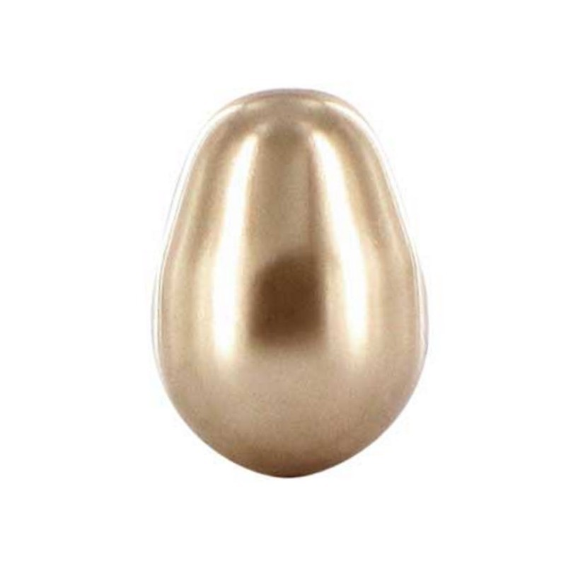 11x8MM Crystal Bronze Pearl (001 295) Pear-shaped 5821 SWAROVSKI ELEMENTS
