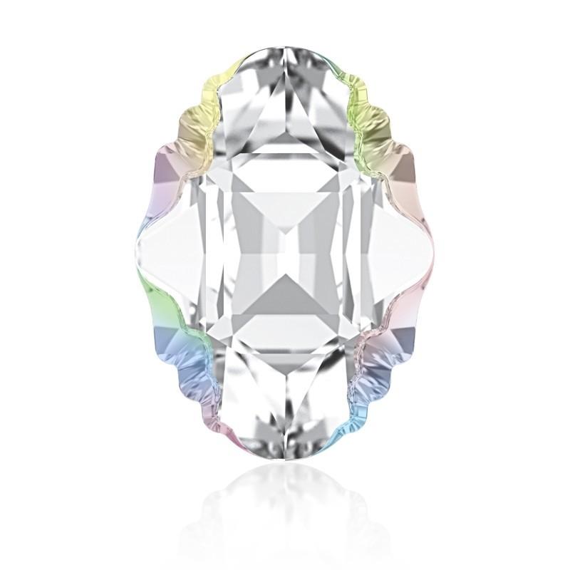 14x10mm Crystal Aurore Boreale Z F (001 ABZ) Oval Tribe Fancy Stone 4926 Swarovski Elements