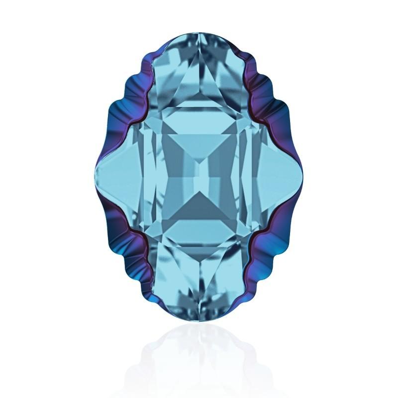 14x10mm Crystal Aurore Boreale Z F (001 ABZ) Oval Tribe Кристалл для украшений 4926 Swarovski Elements