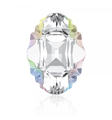 19x14mm Crystal Aurore Boreale Z F (001 ABZ) Oval Tribe Ehete Kristall 4926 Swarovski Elements