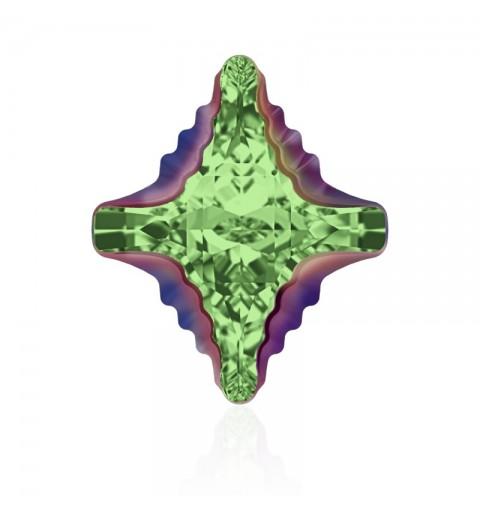 19x17mm Peridot Scarabaeus Green Z F (214 SCGRZ) Rhombus Tribe Fancy Stone 4927 Swarovski Elements