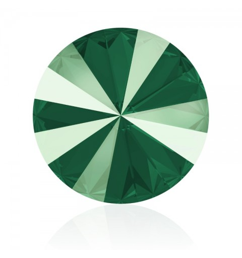 12MM Crystal Royal Green (001 L109S) 1122 Rivoli SWAROVSKI ELEMENTS