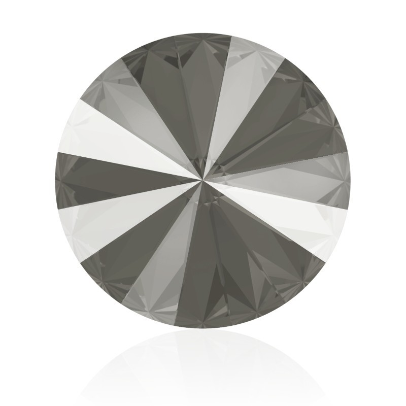 12MM Crystal Dark Grey (001 L111S) 1122 Rivoli SWAROVSKI ELEMENTS
