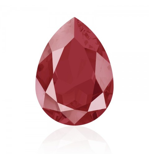 14x10mm Crystal Royal Red (001 L107S) Pear-Shaped Fancy Stone 4320 Swarovski Elements
