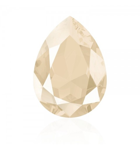 18x13mm Crystal Ivory Cream (001 L106S) Pear-Shaped Fancy Stone 4320 Swarovski Elements