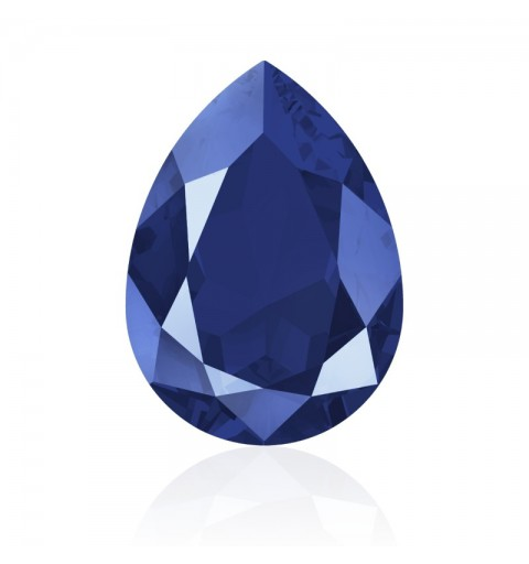 18x13mm Crystal Royal Blue (001 L110S) Pear-Shaped Fancy Stone 4320 Swarovski Elements