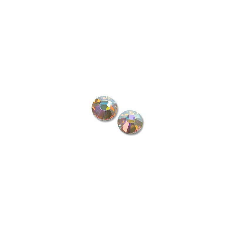 2058/2028 Crystal AB (001 AB) F SS 8 SWAROVSKI ELEMENTS