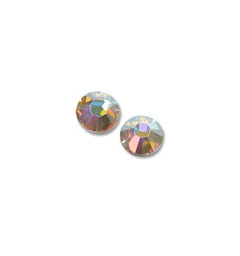 2058/2028 Crystal AB (001 AB) F SS 8 SWAROVSKI ELEMENTS
