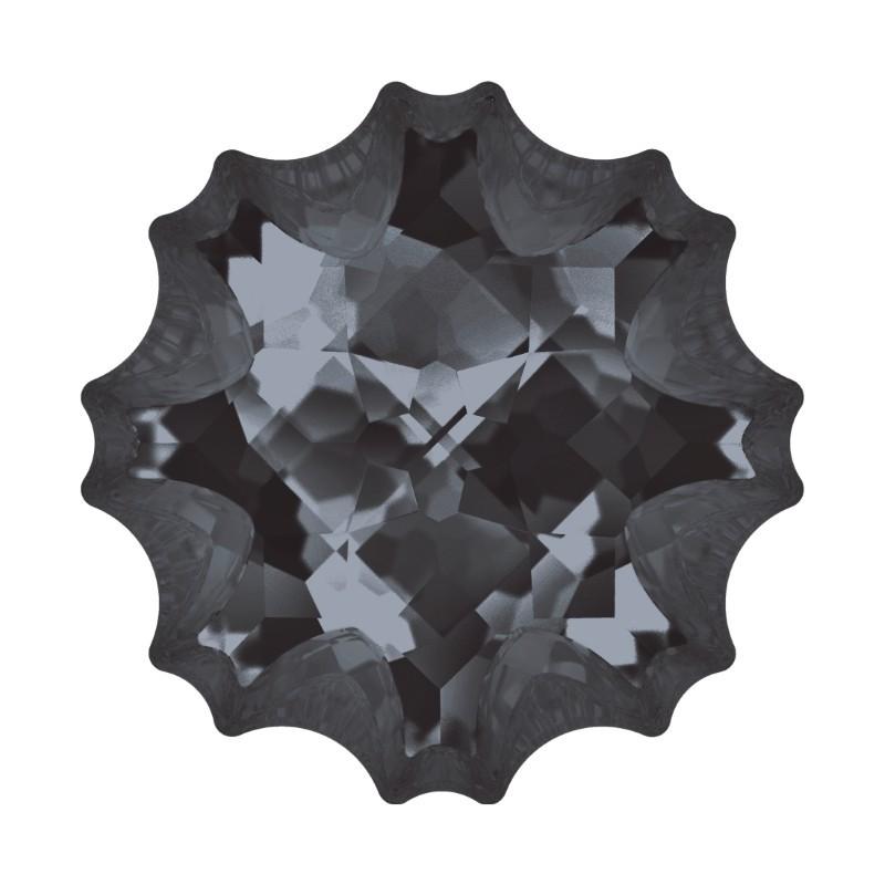 14mm Crystal Silver Night (001 SINI) Jelly Fish Fancy Stone 4195 Swarovski Elements