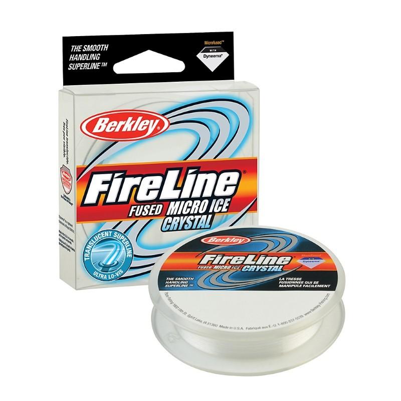 0.12mm/6.8kg FireLine Micro Ice безцветная нейлоновая леска 45м
