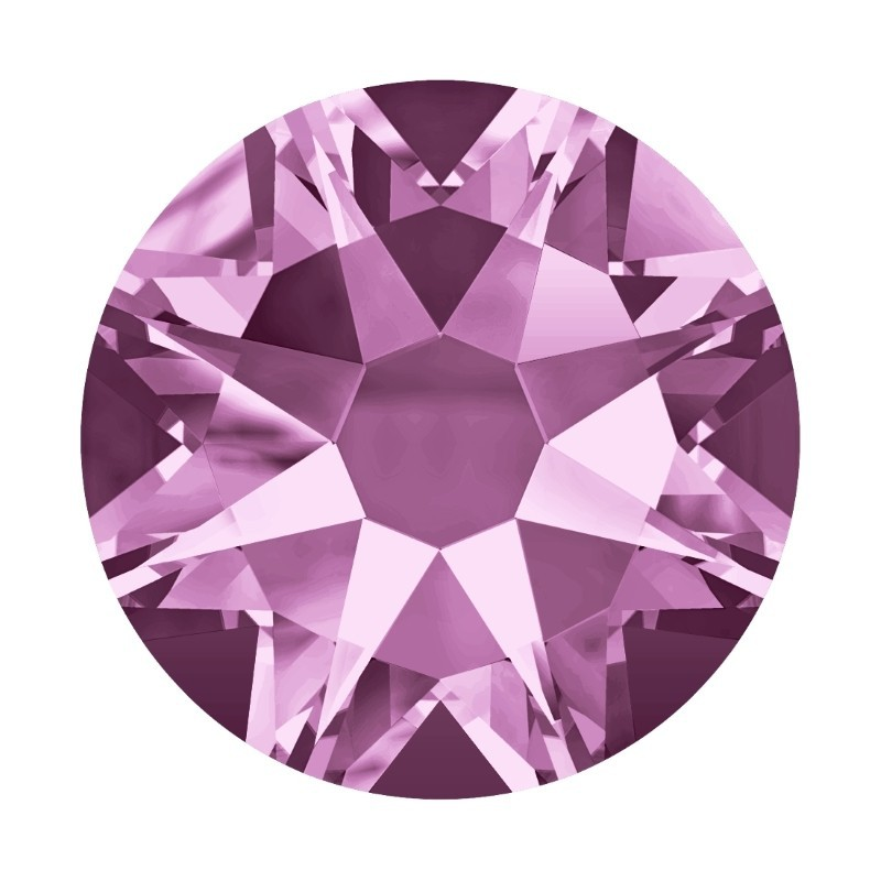 2058/2028 SS5 Light Amethyst F (212) SWAROVSKI ELEMENTS