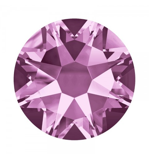 2058 SS12 Light Amethyst F (212) XILION Rose SWAROVSKI ELEMENTS
